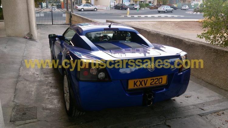 Vauxhall vx220 Turbo (Opel Speedster Turbo)