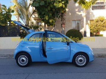 Fiat 500 Lounge, Baby Blue Bambino Manual