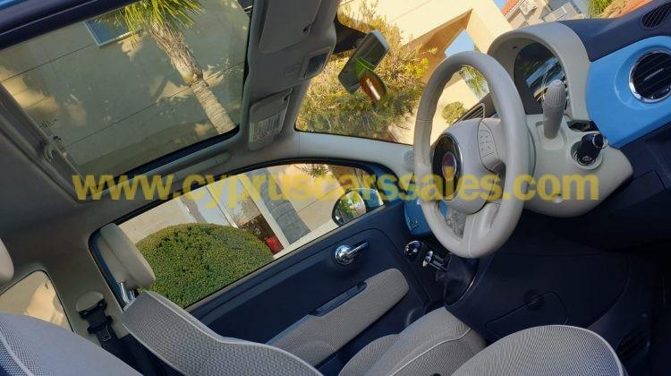 Fiat 500 Lounge, Baby Blue Bambino Manual