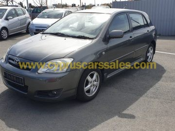 Toyota Corolla 1.6L, Petrol, Automatic, €4950, Grey