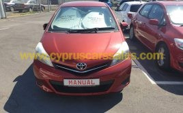 Toyota Yaris 1.4L Diesel 2012 €8500 Red Colour 6-Speed manual