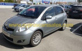 Toyota Yaris 1.4 D-4D Hatchback Silver 2009, 6-Speed, Facelift model €7000
