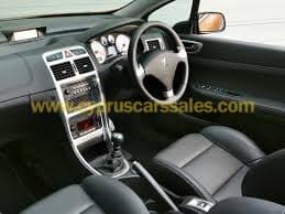 Peugeot 307 1.6L, 16V-Cabrio