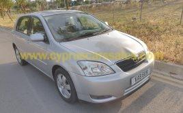 Toyota Corolla 1,4L 2003 One female owner