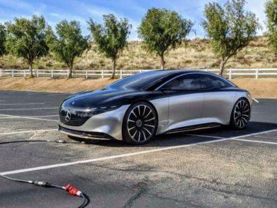Mercedes-Benz EQS Will Have 435+ Miles / 700+ Km Of Range