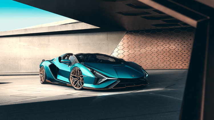 NEW LAMBORGHINI SIÁN ROADSTER UNVEILED: THE FUTURE IS HERE