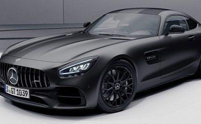 """2021 Mercedes-AMG GT """"Stealth Edition"""" Rocks Black Design Elements"""