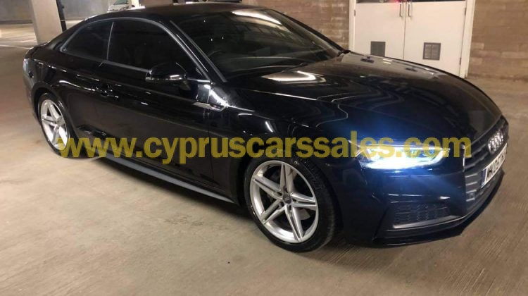 Audi A5 Coupe 2.0TDI, S-Line S-Tronic 2017