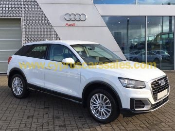 Audi Q2 2017, cyprus car, new condition with extras, 1 year warranty from Audi