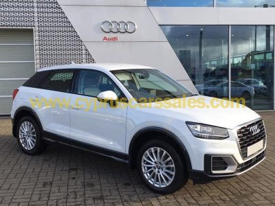 Audi Q2 2017, cyprus car, new condition, 1 year warranty from Audi