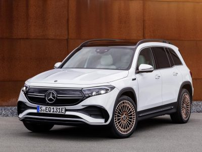 The Mercedes-Benz EQB is an all-electric seven-seat SUV