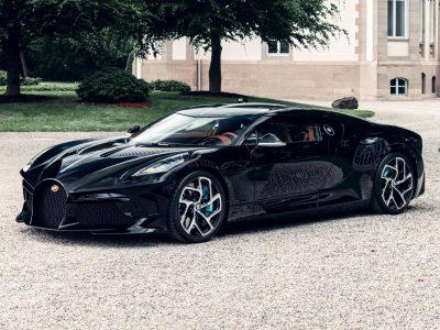 The €11million Bugatti La Voiture Noire is finally finished