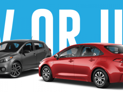 BUYING A USED CAR VS A NEW CAR: EITHER WAY YOU CAN'T GO WRONG!