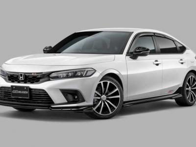 Mugen Reveals a Bunch of Upgrades for 2022 Civic Hatchback