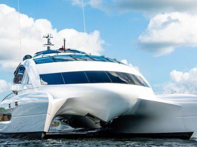 Porsche-Designed Superyacht, Royal Falcon One, Hits the Market