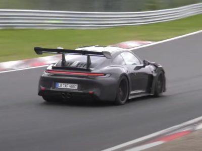 Η νέα Porsche 911 GT3 RS σε δοκιμές στο Nurburgring (Video)