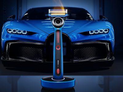 Θερμαινόμενο ξυραφάκι από την Bugatti και την Gillette