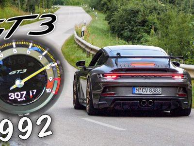 Η νέα Porsche 911 GT3 στα 0-307 χλμ/ώρα